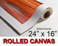 """YOUR OWN PHOTO, PICTURE, IMAGE ON TO A ROLLED CANVAS PRINT - A2 SIZE 24""""x16"""""""