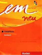 Hueber EM NEU 2008 Hauptkurs KURSBUCH Deutsch als Fremdsprache NIVEAU B2 @New@