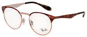 Ray Ban Eyeglasses RX 6406 2971 49 Tortoise Frame [49-18-140]
