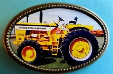 Minneapolis-Moline G1000 TRACTOR Epoxy Photo Buckle New