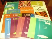 Lot of 20 Bill Gaither Sheet Music Song Book Piano