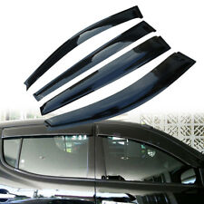 4pcs Rainshield/Window Visor/Rainshield for Mitsubishi Triton Double Cab 06-15