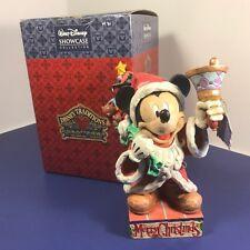 Jim Shore Walt Disney Statue Enesco Nib Box Mickey Mouse Old St Mick Figurine