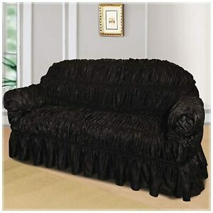 Jacquard Sofa Arm Chair Covers 1 Seater & 2 Seater Protectors