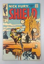 Marvel Comics Group Nick Fury Agent of SHIELD #7 December 1968 Salvador Dali