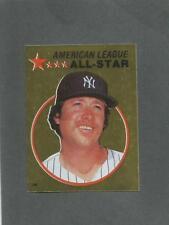 1982 O-Pee-Chee Baseball Sticker Rich Gossage #140 All-Star Foil Yankees *MINT
