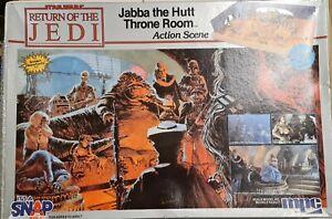 MPC Star Wars Return of the Jedi Jamba the Hutt Throne Room Model Kit