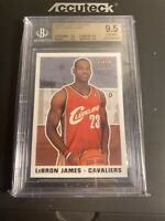 2003-04 Fleer Tradition #261 Lebron James Rookie Card RC BGS 9.5 TRUE GEM MINT