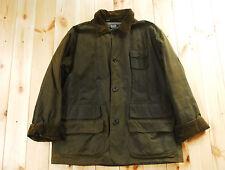 Vintage Ralph Lauren Polo WAXED COTON VERT Pays Veste de chasse tir L