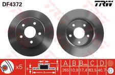 Brake Disc (2 Piece) - TRW df4372