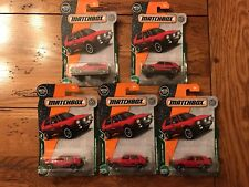 2018 Matchbox '90 VOLKSWAGEN GOLF COUNTRY VW Lot of 5 FIVE MBX Road Trip Red