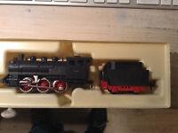 FLEISCHMANN H0 Locomotive à Vapeur   REF1304   excellent état dans sa boite