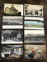 Lot Of Vintage Early 1900s Photo Postcards