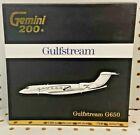 Gemini 200 1:200 Gulfstream G650 Jet Tail# N65IGJ Item# G2GLF714 Diecast NEW