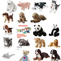 IKEA Soft Toys Panda Shark Dog Animals Kids Christmas Plush Cuddly Toy