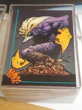 New listing Sam Keith The Maxx Trading Cards Almost Complete Full Set Image Comics
