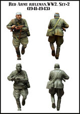 Evolution 1:35 Red Army Rifleman WWII Set-2 1941-1943 35079*