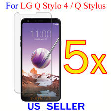 5x Clear Screen Protector Guard Cover Shield Film For LG Q Stylo 4 / Q Stylus