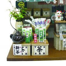 Doll House kit Billy handcraft model Kit Green Tea and sweet Shop 8833 Japanese