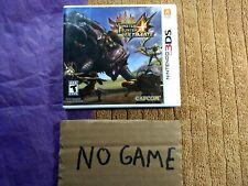 Monster Hunter 4 Ultimate (Nintendo 3DS, 2015) case only, no game