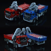 New 1:50 Scale Diecast Atego with Crane Truck Vehicle Cars Model Kids Toys