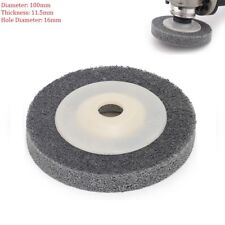 1pcs 4'' 100mm Nylon Fiber Polishing Buffing Wheel Pad Disc For Angle Grinder