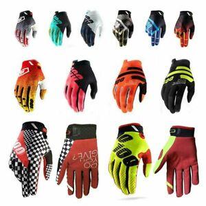 100% Gloves Motocross Gloves Road Bike Mountain Bike Gloves Mtb MX ATV