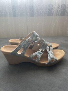 Romika Damen Sandalette Leder offwhite Innensohle ist austauschbar