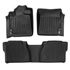 SMARTLINER All Weather Custom Fit Floor Mats Liner for Tundra Double Cab Black