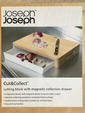 JOSEPH JOSEPH Chopping Board, Cutting Block – Cut&Collect - Black