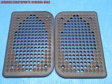 OEM PORSCHE 944 951 TURBO N/A S2 924S DOOR SPEAKER GRILLE COVER TRIM BROWN