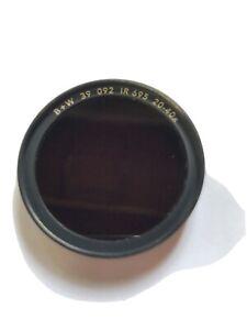 B + W 39mm Infrared Filter # 092 (89B/RG695) #65-072240