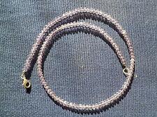 Natürlicher Echtschmuck mit Amethyst-Halsketten aus