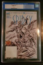 Marvel Universe X Spidey #1 Sketch Variant Dynamic Force Edition CGC 9.6