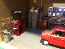 1/18 Scale Miniature Brake lathe for Diorama Garage Diecast Car