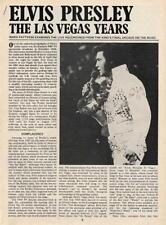 Elvis Presley 'Las Vegas Years' UK Discography article