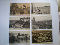 Great Lot of 6 Vintage Antique Postcards, Cannes Belgium France & Greece