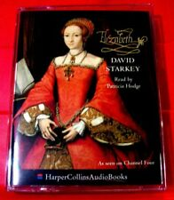 David Starkey Elizabeth 2-Tape Audio Patricia Hodge Queen/Royalty/I/1/1st/First