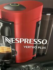 Nespresso Vertuo Plus coffee machine Red BRAND NEW IN BOX FREE POSTAGE