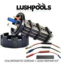CHLOROMATIC / AQUACHLOR ESR240 Replacement Chlorinator Cell + Half Lead Kit