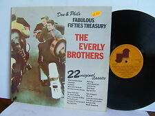 The Everly Brothers - Don & Phil's Fabulous Fifties Treasury 6310 300 UK LP 1974
