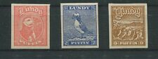 GB UK LUNDY LOKALPOST 1929 BIRDS PUFFIN PUFFINS VÖGEL PAPAGEIENTAUCHER m0012