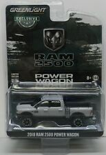 2018 18 LIGHT GREY POWER WAGON RAM PICKUP TRUCK DODGE BOYS MOPAR  GREENLIGHT