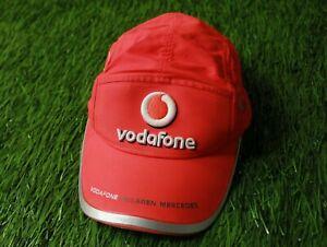 VODAFONE MCLAREN MERCEDES # 2 LEWIS FORMULA 1 F1 RACING CAP HAT OFFICIAL PRODUCT