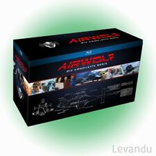 Blu-ray Box AIRWOLF - DIE KOMPLETTE SERIE (Staffel 1-4) - 18 Disc's NEU+OVP