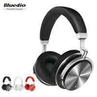 Bluedio T4S Noise Cancelling Wireless Bluetooth 4.2 Headphone Stereo Mic Headset