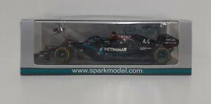 Model Car Scale 1:43 F1 Spark Mercedes AMG Hamilton 2020 Modeling Static