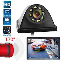 Universal 8 LED 170° Car Backup Reverse Parking Rear View Night Vision HD Camera