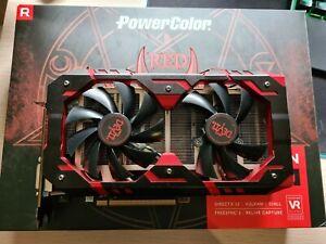 PowerColor AMD Radeon RX 580 Red Dragon V2 8GB GPU Graphics Card