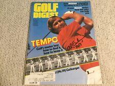 Al Geiberger Mr 59 Golf Signed Autograph Golf Digest Cover PGA